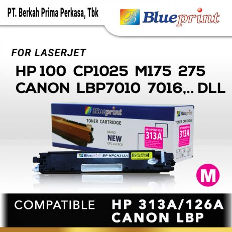 Toner BLUEPRINT Toner Cartridge BPHPCN313A 10 blueprint toner cartridge bp hpcn313a new