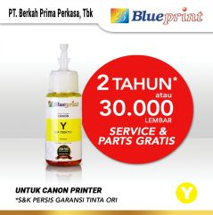 Tinta Canon BLUEPRINT Refill For Printer Canon 70ml Yellow  Kuning