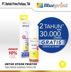 Tinta Epson 003 BLUEPRINT For Printer Epson 72ml Yellow  Kuning