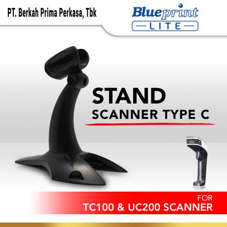 Printer Thermal Stand Barcode Scanner BLUEPRINT TC100  UC200 stand scanner uc tc