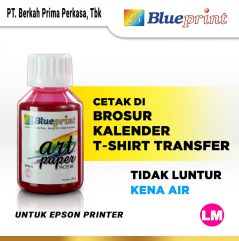 Tinta Art Paper Epson BLUEPRINT Refill For Printer Epson 100ml Light Magenta