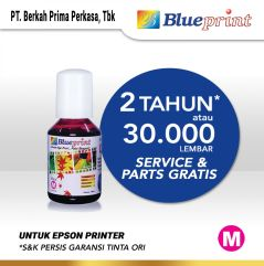Tinta Epson 003 BLUEPRINT Refill For Printer Epson 100ml  Merah