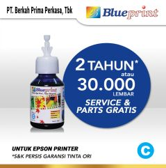 Tinta Epson BLUEPRINT Refill For Printer Epson 100ml  Cyan CP