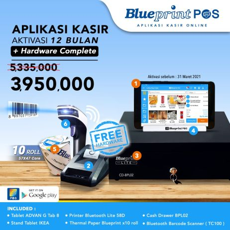 Printer Thermal Promo Termurah Paket UsahaAplikasi Kasir BLUEPRINT POS 1 Thn Free Hardware Komplit whatsapp image 2021 01 06 at 12 06 13